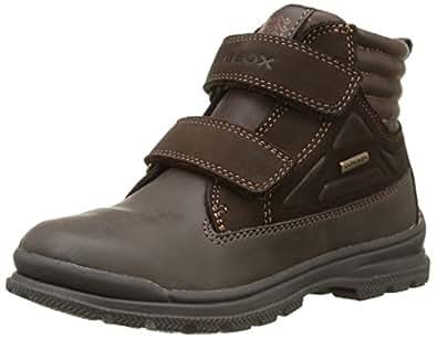 Geox  Jr William B Abx A, Chaussures de Gymnastique garçon - Marron - Coffee, 37 EU