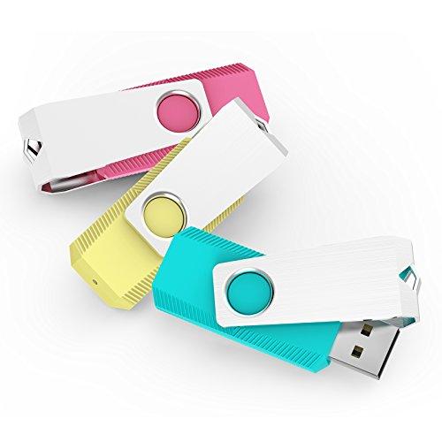 KEXIN 32GB USB Sticks Buntes Flash Laufwerk USB Stick 2.0 (32GB)