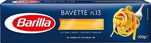 Barilla Hartweizen Pasta Bavette n. 13 - 8er Pack (8x500g)