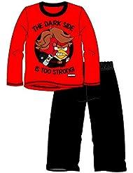 Enfants Garçons Officiel Angry Birds Star Wars Ensemble pyjama 100% coton (pour plus de confort)–pour enfants de 3–10ans