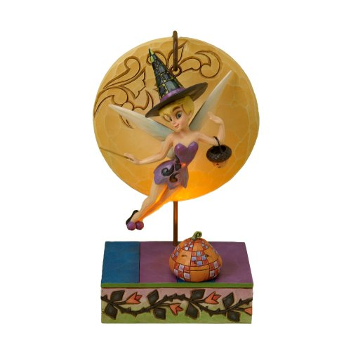 Disney Traditions designed by Jim Shore for Enesco Tinker Bell Witch Figurine 7.25 (Halloween Jim Shore)