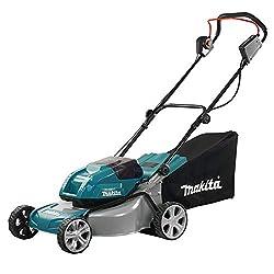 Makita DLM460Z Rasenmäher 2x18V (ohne Akku, ohne Ladegerät), Blau