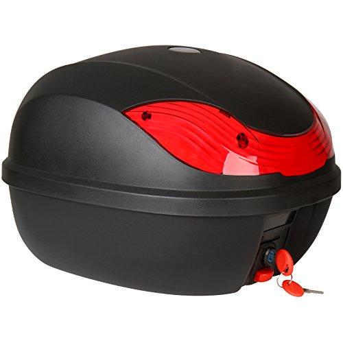 Motorradkoffer Motorrad-Box Top Case für Motorräder Quad Bike und Roller Volumen ca. 27 Litern
