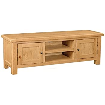 Zelah Oak Large TV Unit