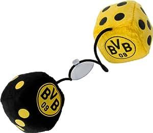 BVB Borussia Dortmund Plüschwürfel Auto Glückswürfel