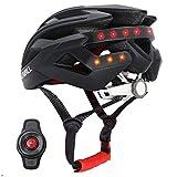 Livall BH60SE 2018 Smart Bike Bluetooth Helm mit kabelloser Lenkerfernbedienung, Schwarz
