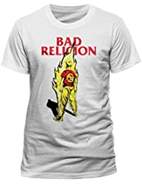 Bad Religion Men's Band T-Shirt – Flame
