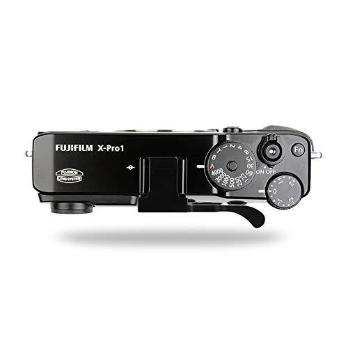 EWOOP Fj-pro Thumbs Up Grip pour Fujifilm X-pro2 X-Pro1 Meilleur équilibre et grand confort de prise en main, Camera Noir Poignée grip à main en métal