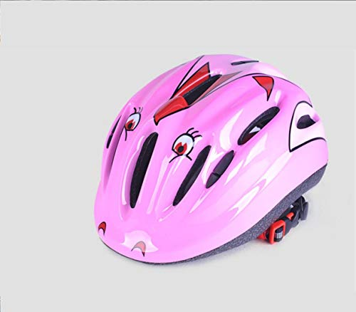 Kinder Fahrradhelm Reithelm Multi-Use Kinderhelm Für Radfahren Und Outdoor Sports,Pink