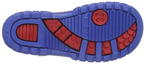 ROMIKA Slimmy, Bottes mi-hauteur avec doublure chaude mixte enfant Rouge - Rot (Rot-Blau 413)