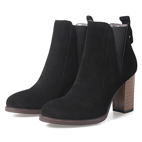 wild grezzo con short boots/ a punta high heels stivali di nudo/Elastica del piede stivali/ gli stivali da lavoro-A Lunghezza