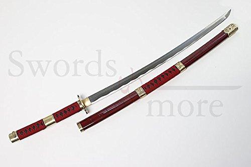 Swords and more One Piece Roronoa Zoro Katana - handgeschmiedet