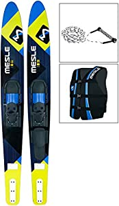 MESLE Combo-Ski Package Strato 170 cm mit Weste Sportsman + Leine Combo,...