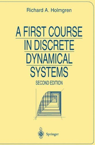 A First Course in Discrete Dynamical Systems (Universitext) by Richard Holmgren (2013-10-04)