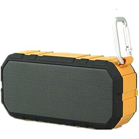Manos libres Bluetooth altavoz portátil resistente al agua al aire libre llame al jugador dos altavoces ,