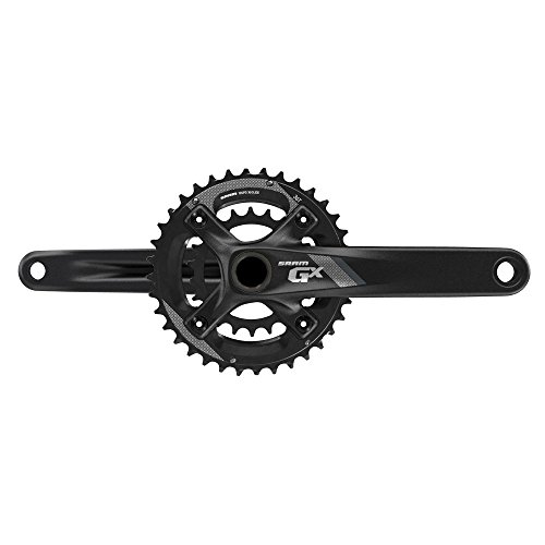 SRAM Kurbel SRAM Kurbelgarnitur GX 1000 Fatbike schwarz, 170mm, 36-24T, 11-Fach ohne GXP Innenlager, 00.6118.349.002, schwarz, Uni, 00.6118.349.002