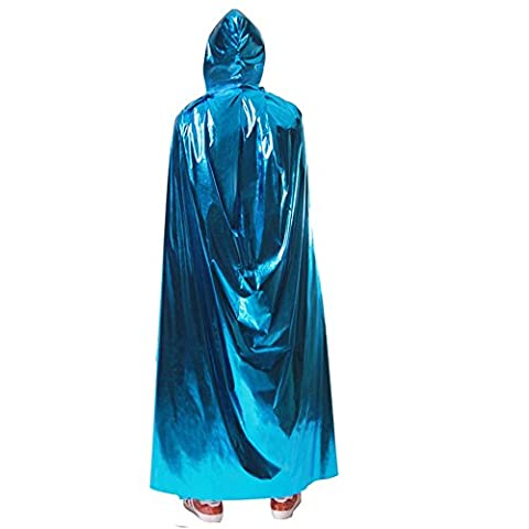 halloween capes performance apparel adult male and female cosplay devil's cloak. grim reaper costume show