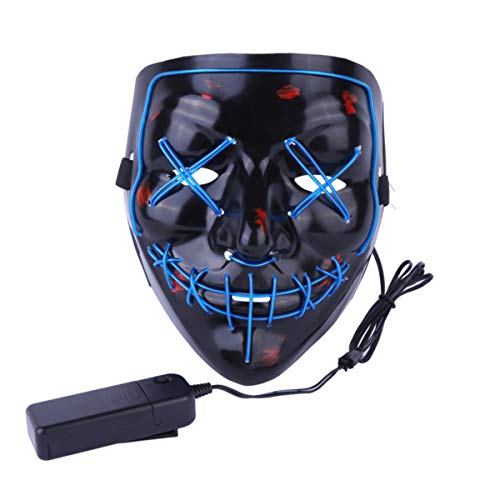 ske, LED Light Purge Maske, Festival Cosplay, Halloween-Kostüm ()