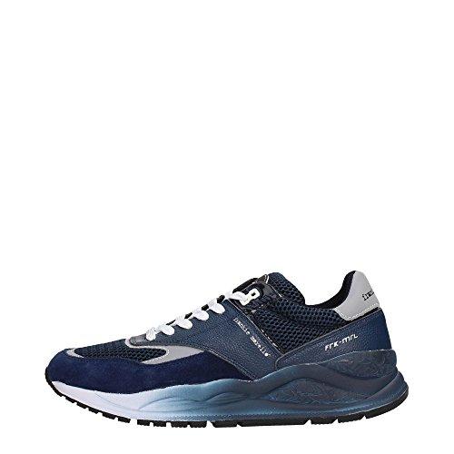 Frankie Morello 14NA Sneakers Uomo Tessuto Navy Navy 40