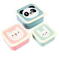 Rex London 27996 Miko and Friends Snack Boxes (Set of 3)