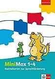 MiniMax 1-4: Mathekarten zur Sprachförderung Klasse 1-4 (MiniMax. Allgemeine Ausgabe ab 2016)