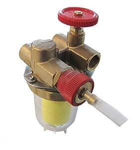 Oventrop - Filtre fioul - OVENTROP Recyclage à robinet d arrêt FF3/8 - OVENTROP : 2122261+2127600
