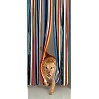 Slat Type Door Curtain,Bug Blind,Fly Blind,Strip Blind-Traditional Multi Colour