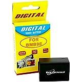 Photoprimus marques Batterie de rechange pour Panasonic dmw-bmb9e (High Capacity 1200mAh convient pour PANASONIC Lumix FZ72FZ62FZ45fz48FZ100FZ150Leica V-Lux 2V de Lux 3