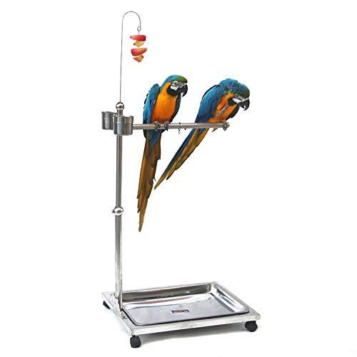 Fanvone Alimentador de Aves La alimentación de Metal estación de Aves de Gran tamaño apropiadas for...