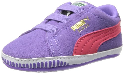 Puma Suede Crib, Sneaker bambine Viola (Violett (dahlia purple-paradise pink 03))
