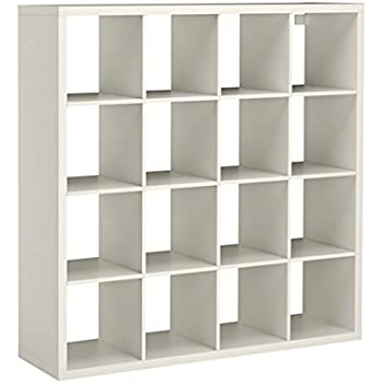 Ikea regal kallax 2x4  IKEA KALLAX - Shelving unit, white - 147x147 cm: Amazon.co.uk ...