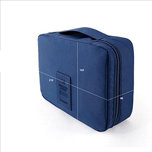 FunYoung Sacchetto cosmetico di immagazzinaggio borsa da viaggio da toilette Bag scelta del colore della casa di corsa Organizer