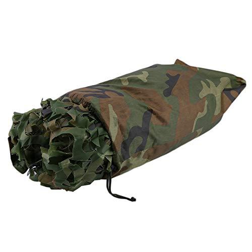 e Outdoor Jagd Military Camouflage Dschungel Blätter Net Woodland Armee Camo Netting Camping Schatten Abdeckung ()