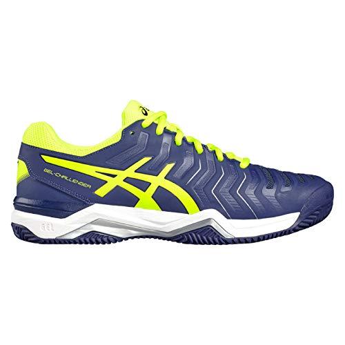 ASICS Herren Tennisschuhe Outdoor Gel-Challenger 11 Clay blau/gelb (956) 42,5EU