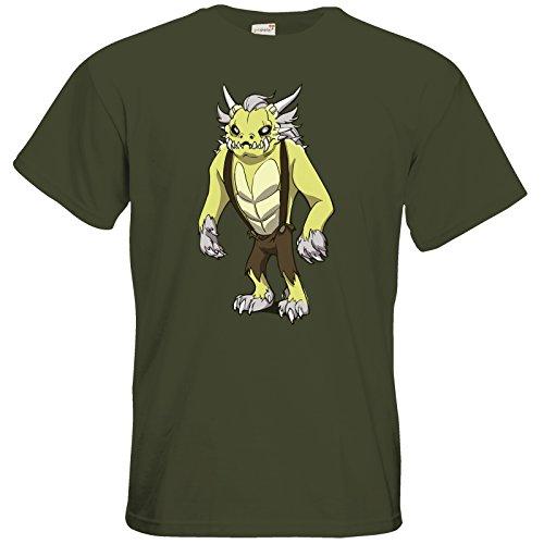 getshirts - Daedalic Official Merchandise - T-Shirt - Deponia Doomsday - Fewlock Khaki