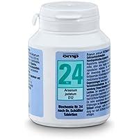 Schüssler Salz Nr. 24 Arsenum jodatum D12 - 400 Tabletten, glutenfrei