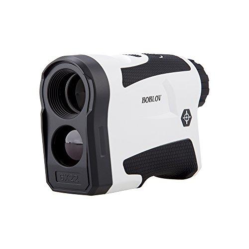Monocolo Telemetro Golf Rangefinder Ingrandimento 6X Precisione ±1m, Batteria Inclusa per Golf Sport