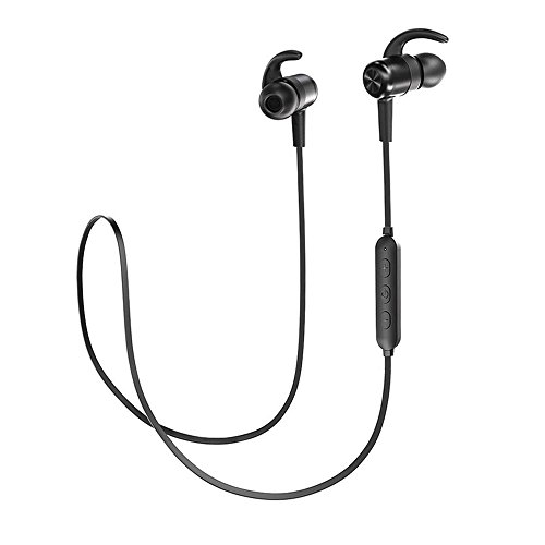 Cuffie Bluetooth Magnetiche 4.1 TaoTronics, Auricolari Impermeabili IPX6 Stereo Wireless...