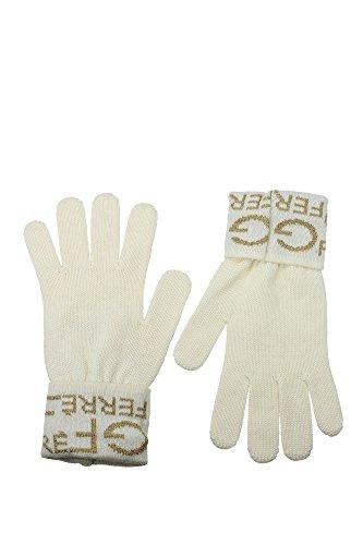 705F5IZ181930V001 Gianfranco Ferré Gants Femme Laine Blanc Blanc