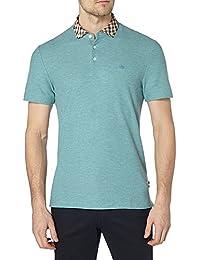 0db460033d4b Aquascutum Coniston club cocher col polo shirt melange vert