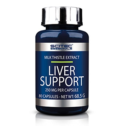 SCITEC Essentials Liver Support - 80 caps. Protector hepático