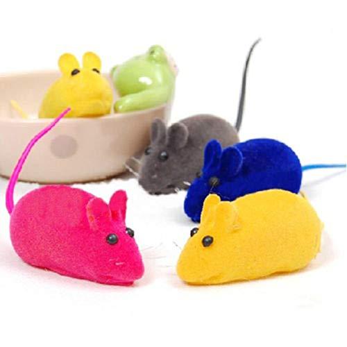 Ogquaton Niedliche Faux Mäuse Katzenspielzeug Kleine Maus