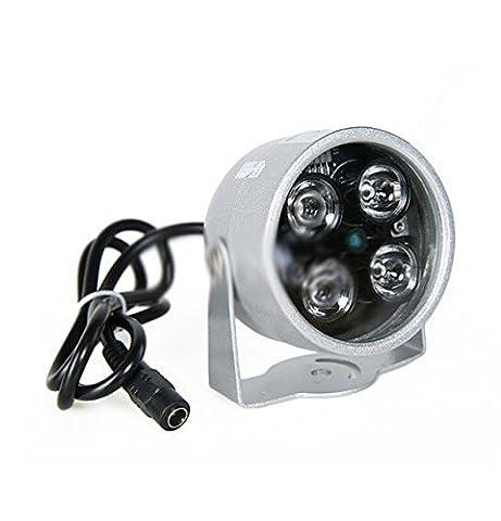 BW 4 Array LED Infrarot Nachtsicht IR Lichtbeleuchtung Lampe 40M für CCTV Kameras Überwachungskamera