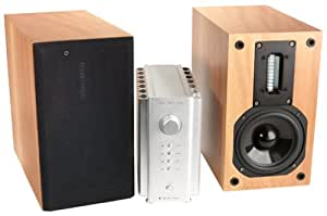 Red Rose Music Spirit Amplifier and Speakers (Complete System, French Sycamore) (Discontinued by Manufacturer)