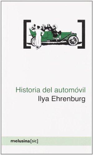 Historia del automóvil por Il'ia Grigor'evich Èrenburg