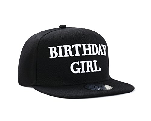 uheit Party Celebration Schwarz Snapback Baseball Cap von True Köpfe (Baseball-happy Birthday)