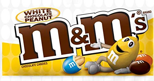 Preisvergleich Produktbild M&M´s White Peanut Chocolate (38, 6g)