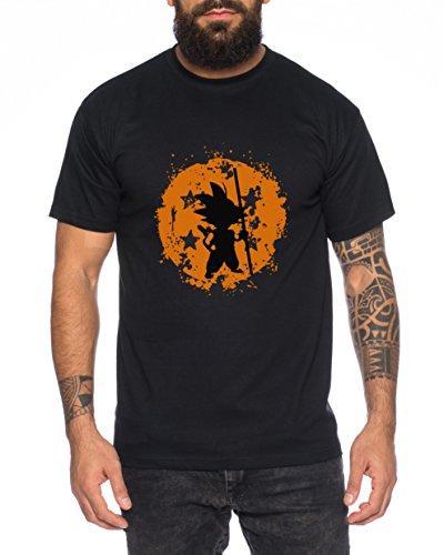 Son bruch Dragon Goku Ball Camiseta de Hombre, Colour:Schwarz;Größe2:XL