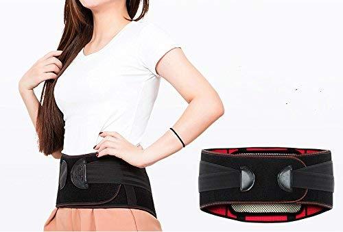 Yukefeng Premium-Qualität Rücken Brace cm-105 cm mit abnehmbaren Lenden-Pad für Lower Rückenschmerzen Relief-Support Belt für Ischias, Skoliose oder Bandscheibenvorfall Disc