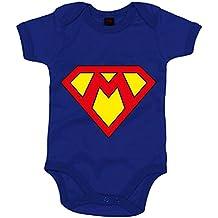 Body bebé Superman Super Mario logo